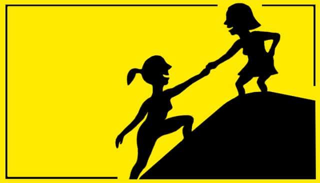 entraide, aide, soutien mutuel, féminité, féminisme, communauté, collaboration, coopération,